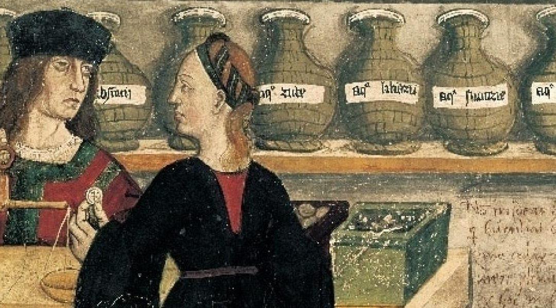 El obrador del boticario y del alquimista