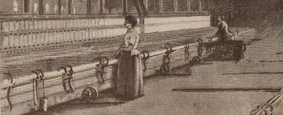 Luddites a l'exposició industrial